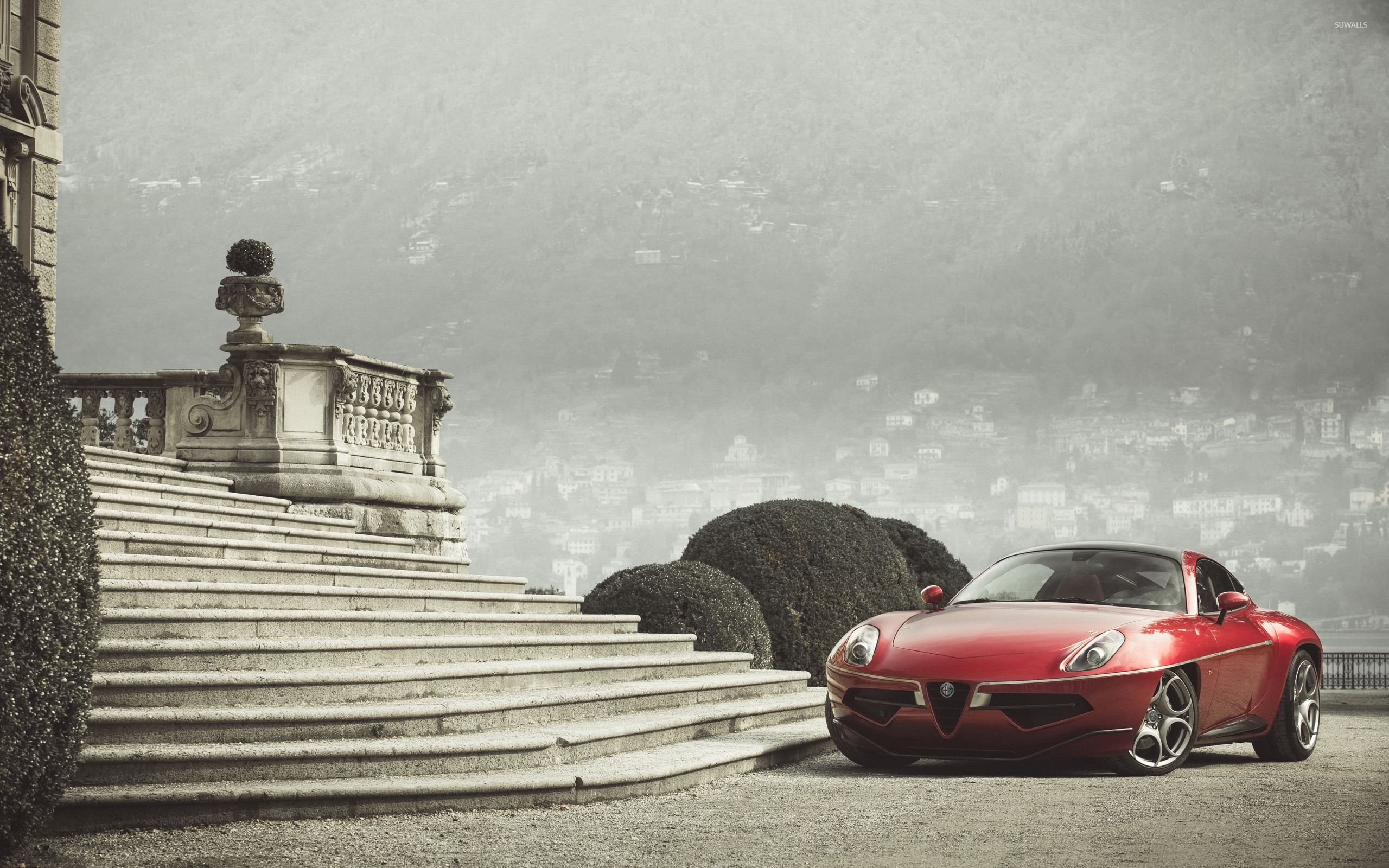 Awesome 2012 Alfa Romeo Disco Volante [5] Wallpaper