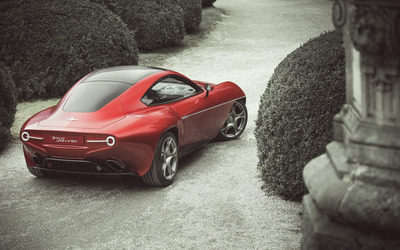 2012 Alfa Romeo Disco Volante [10] wallpaper