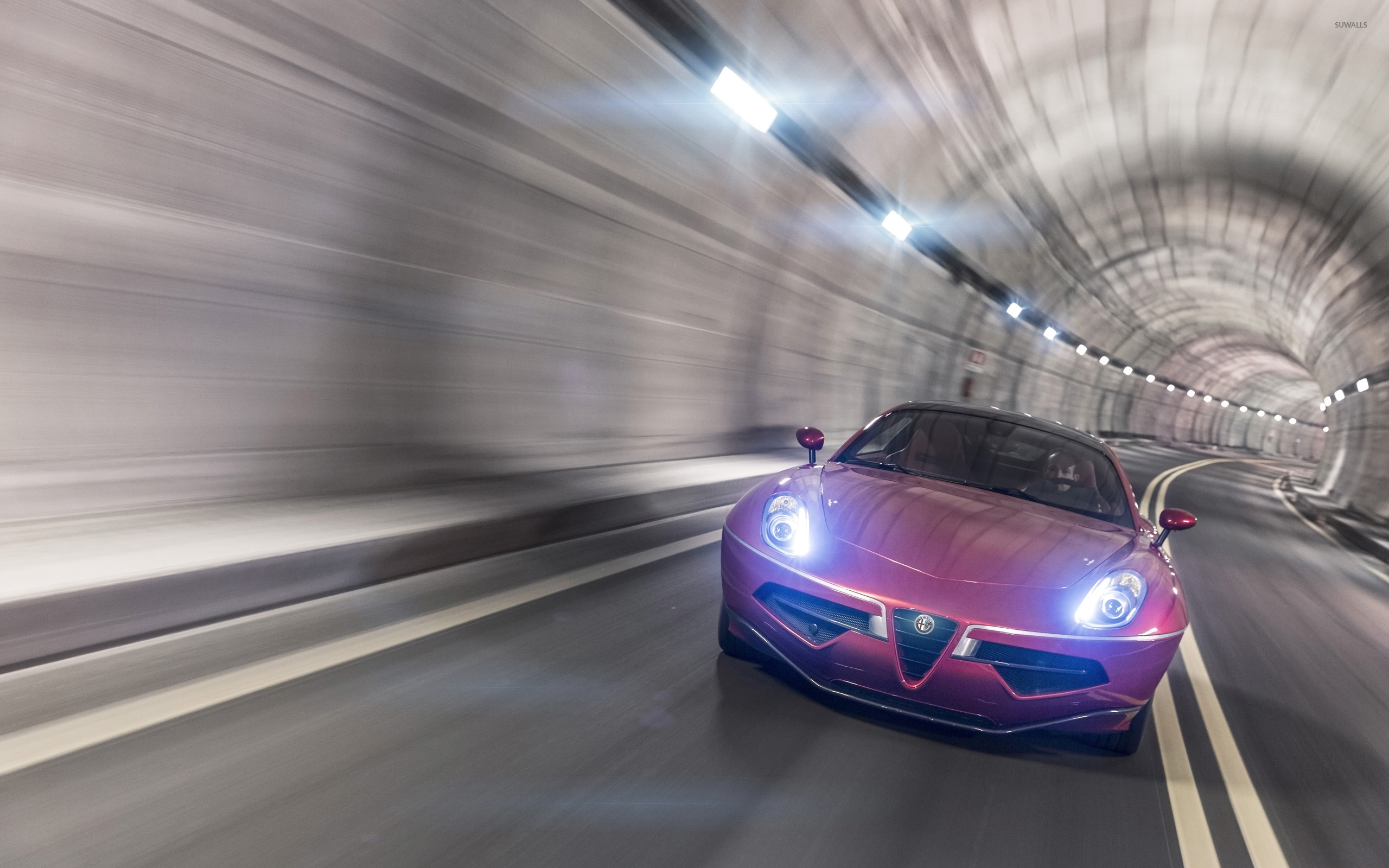 2012 Alfa Romeo Disco Volante Wallpaper