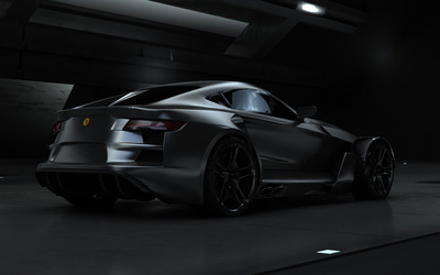 2012 Aspid GT-21 Invictus back view wallpaper