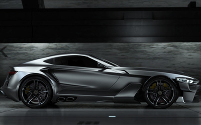 2012 Aspid GT-21 Invictus side view wallpaper