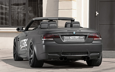 2012 ATT TEC BMW M3 back view wallpaper