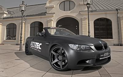 2012 ATT TEC BMW M3 convertible front side view wallpaper