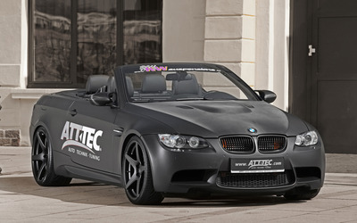 2012 ATT TEC BMW M3 front view wallpaper