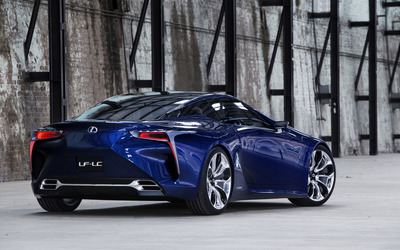 2012 Lexus LF-LC Blue Concept wallpaper