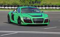2012 Racing One Audi R8 on a racing track wallpaper 2560x1600 jpg