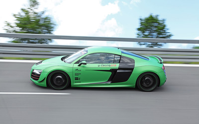 2012 Racing One Audi R8 side view wallpaper