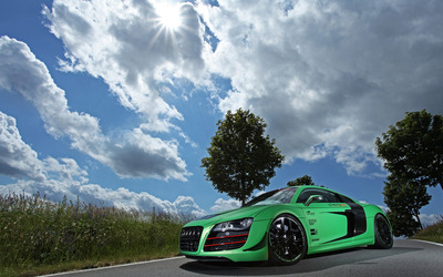 2012 Racing One Audi R8 V10 [9] wallpaper