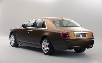 2012 Rolls-Royce Ghost [2] wallpaper