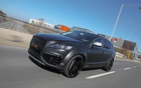 2012 Silver Fostla Audi Q7 on the road wallpaper 2560x1600 jpg