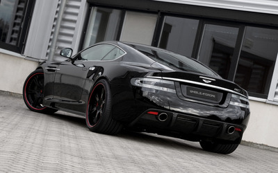 2012 Wheelsandmore Aston Martin DBS back view wallpaper
