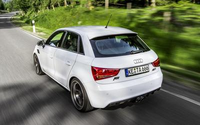 2012 White ABT Audi AS1 wallpaper
