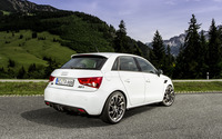 2012 White ABT Audi AS1 back view wallpaper 2560x1600 jpg