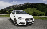 2012 White ABT Audi AS1 front view wallpaper 2560x1600 jpg