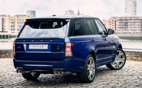 2013 A Kahn Design Land Rover Range Rover 600LE back side view wallpaper 1920x1200 jpg