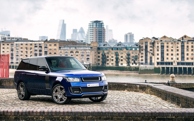 2013 A Kahn Design Land Rover Range Rover 600LE front side view wallpaper