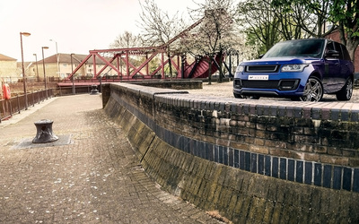 2013 A Kahn Design Land Rover Range Rover 600LE front view wallpaper