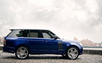 2013 A Kahn Design Land Rover Range Rover 600LE side view wallpaper