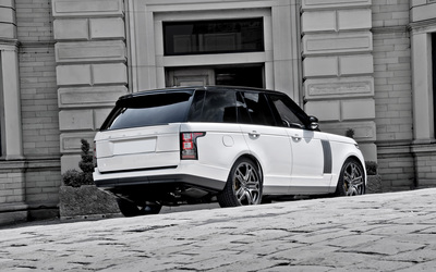 2013 A Kahn Design Land Rover Range Rover back side view wallpaper