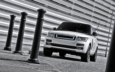 2013 A Kahn Design Land Rover Range Rover front side view wallpaper