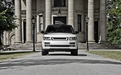 2013 A Kahn Design Land Rover Range Rover front view wallpaper