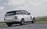 2013 A Kahn Design Land Rover Range Rover on a country road wallpaper 2560x1600 jpg