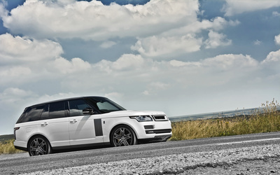 2013 A Kahn Design Land Rover Range Rover side view wallpaper