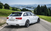 2013 ABT Audi AS6 back view wallpaper 1920x1200 jpg