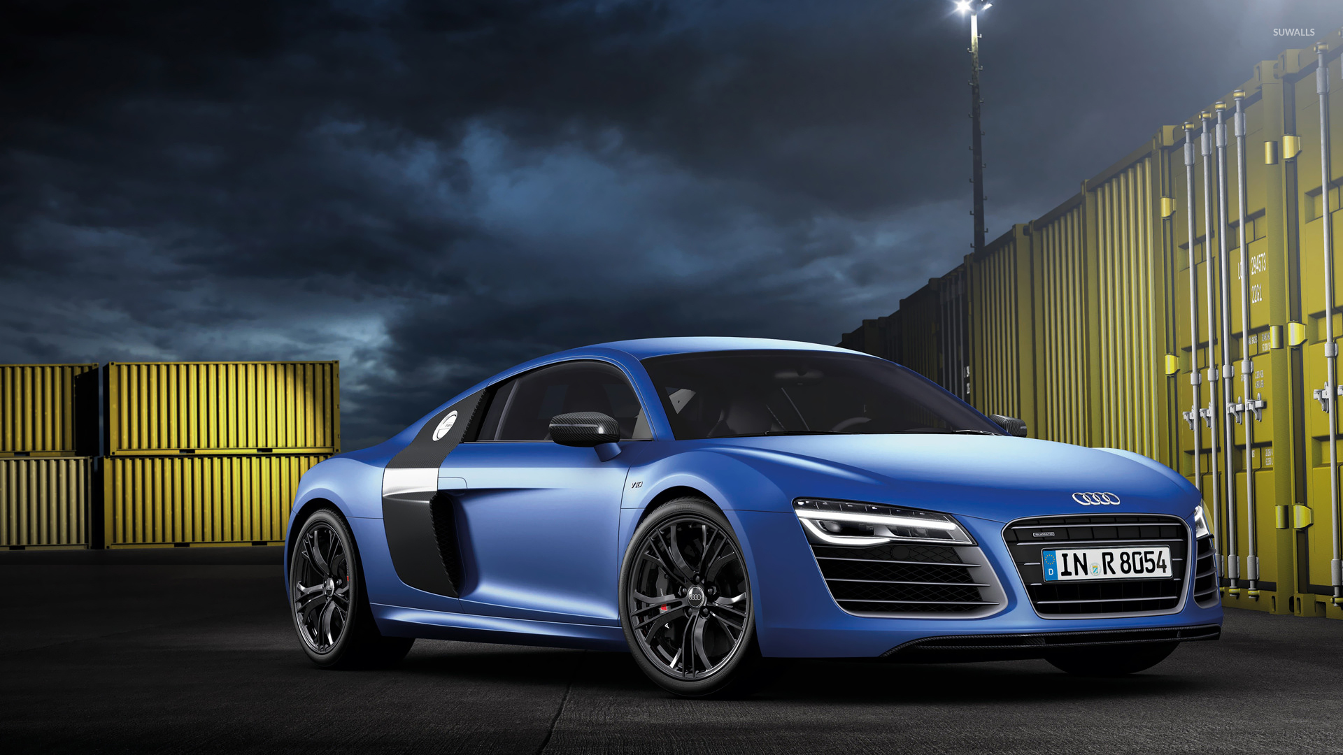 2013 blue audi r8 v10 plus wallpaper car wallpapers 52411. Black Bedroom Furniture Sets. Home Design Ideas