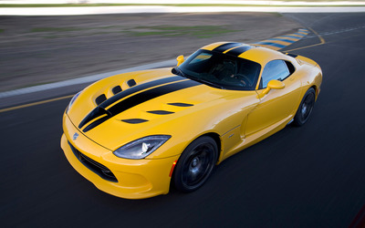 2013 Dodge Viper SRT GTS [4] wallpaper