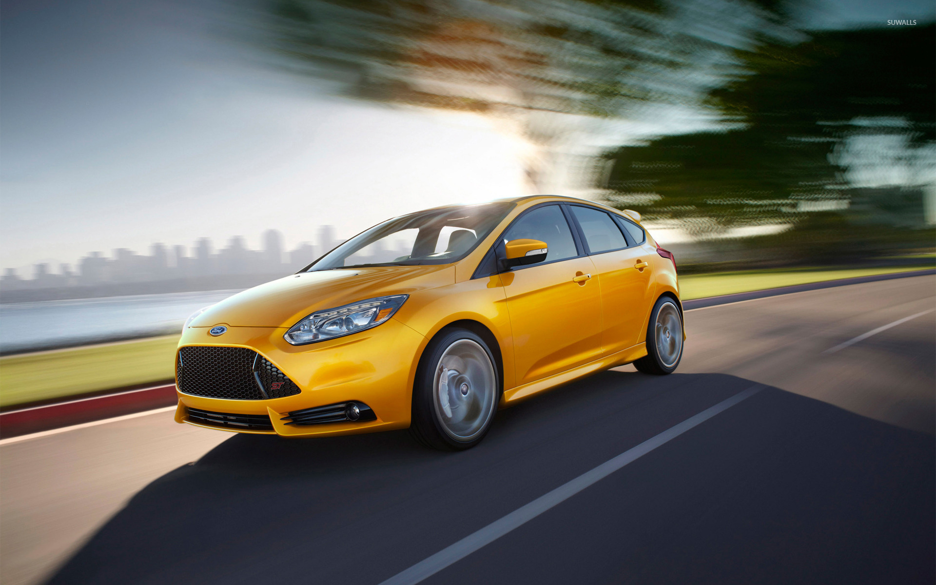 2013 Ford Focus St 2 Wallpaper Car Wallpapers 17165