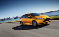 2013 Ford Focus ST [3] wallpaper 1920x1200 jpg