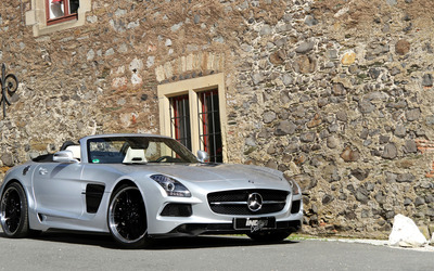 2013 INDEN-Design Mercedes-Benz SLS AMG wallpaper