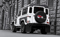 2013 Land Rover Defender back view wallpaper 2560x1600 jpg