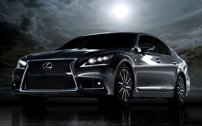2013 Lexus LS 460 F Sport [2] wallpaper