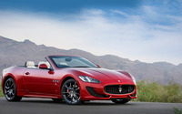 2013 Maserati GranCabrio Sport wallpaper 1920x1080 jpg