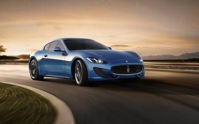 2013 Maserati GranTurismo Sport wallpaper