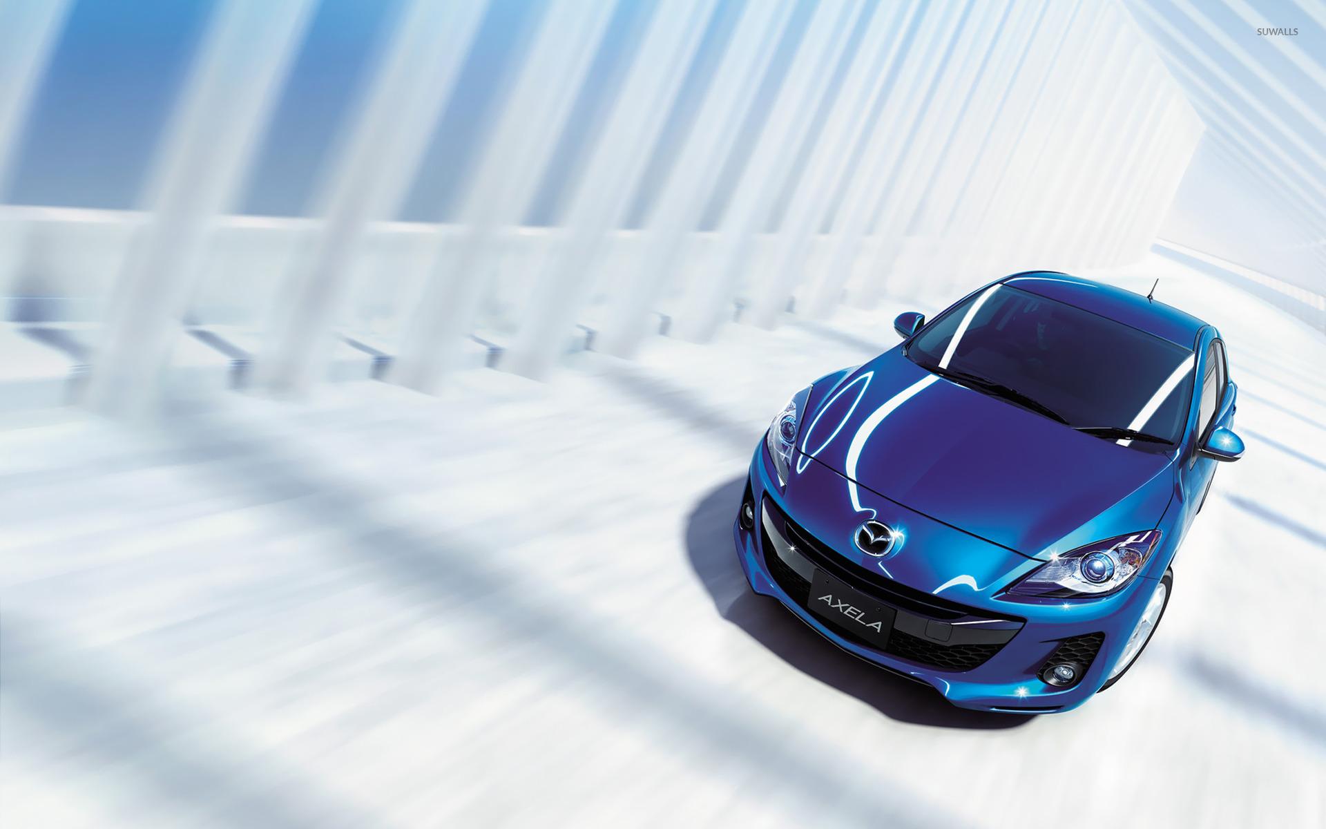 Mazda3 роботы город бесплатно