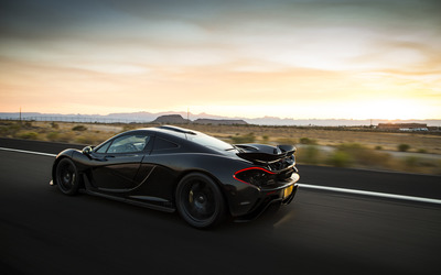 2013 McLaren P1 Extreme Heat wallpaper
