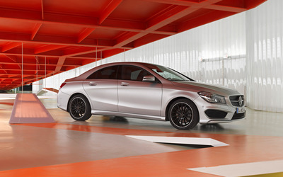 2013 Mercedes-Benz CLA-Class [3] wallpaper