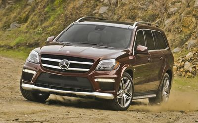 2013 Mercedes-Benz GL63 AMG wallpaper