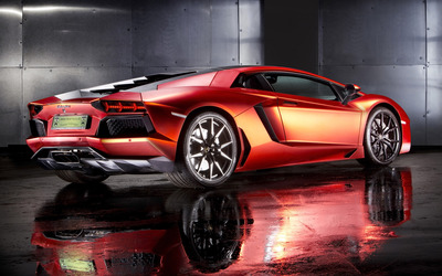 2013 Print Tech Lamborghini Aventador wallpaper