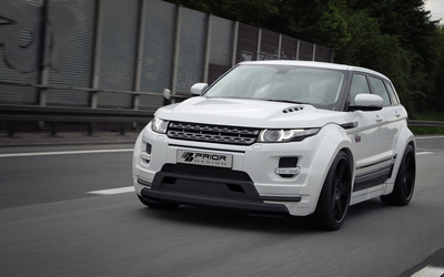 2013 Prior Design Land Rover Range Rover Evoque on the street wallpaper