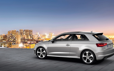 2013 Silver Audi A3 Hatchback wallpaper