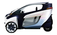 2013 Toyota i-Road wallpaper 2560x1600 jpg