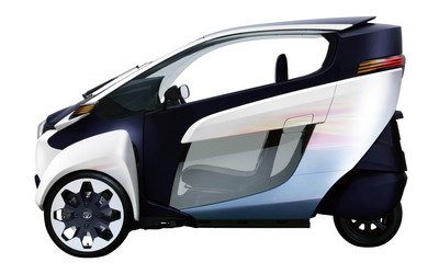 2013 Toyota i-Road wallpaper