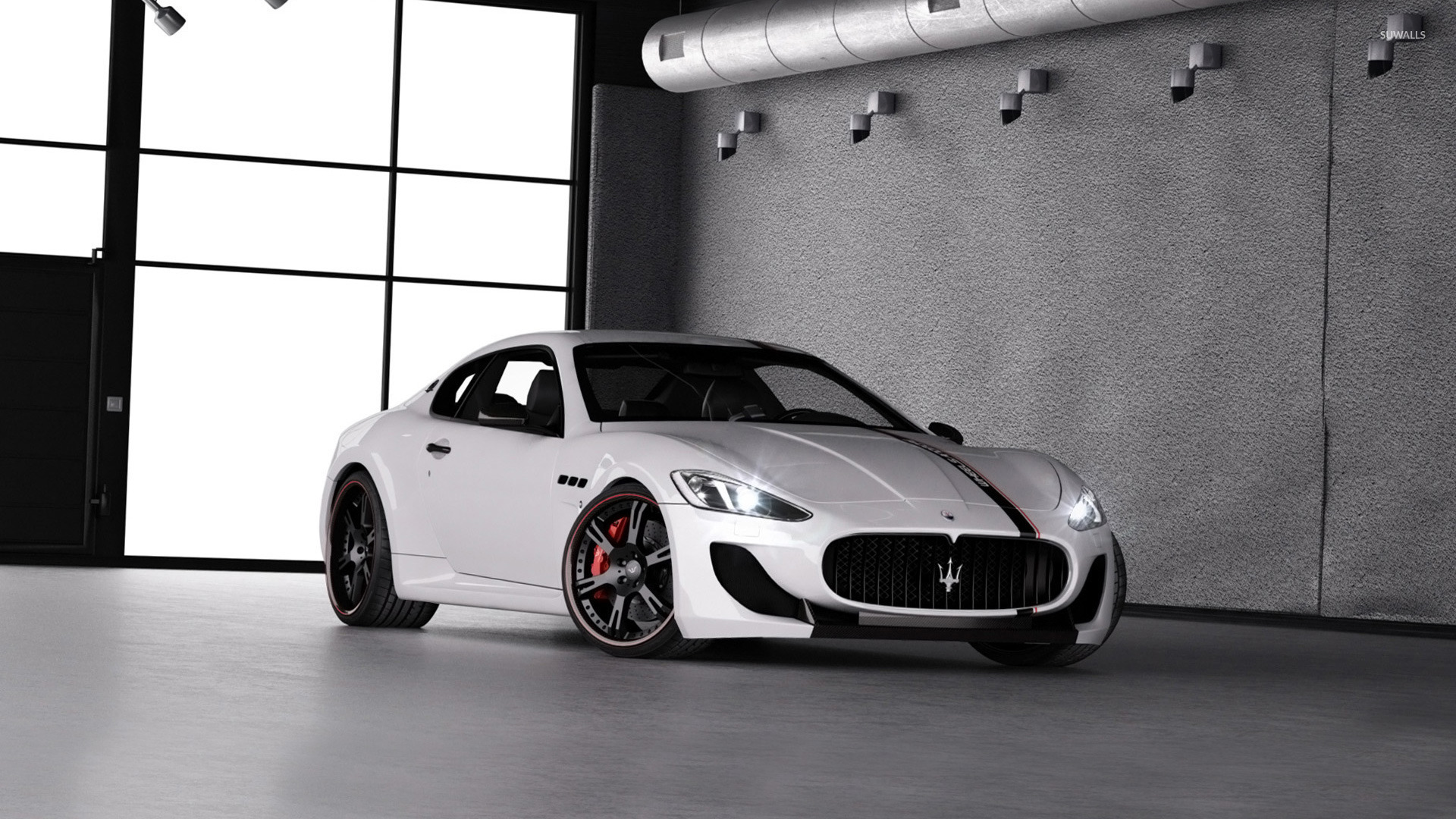 2013 wheelsandmore maserati granturismo wallpaper car