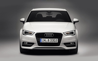 2013 White Audi A3 Hatchback wallpaper 1920x1200 jpg