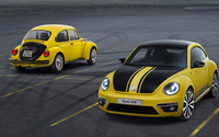 2013 Yellow Volkswagen Beetle GSR wallpaper 1920x1080 jpg