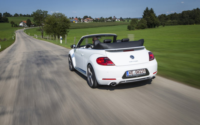 2014 ABT Volkswagen Beetle Cabrio back view wallpaper